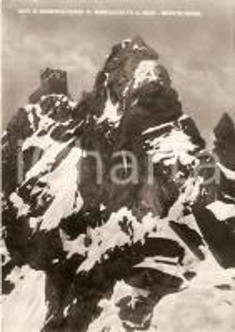 1952 ALAGNA VALSESIA Capanna Regina Margherita e osservatorio *Cartolina FG VG