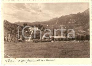 1935 SCHIO (VI) Villa GRANOTTO al Maso Cartolina FG VG