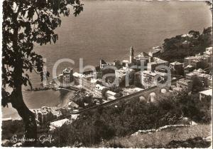1956 BOGLIASCO (GE) Panorama del golfo *Cartolina FG VG