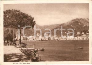 1950 ca RAPALLO (GE) Panorama della città *Cartolina FG VG