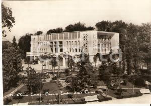 1955 ca ABANO TERME (PD) Cinema Teatro delle Terme *Cartolina FG NV