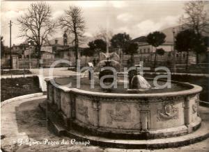 1955 FOLIGNO (PG) Parco dei Canapè *Cartolina FG VG