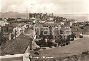 1966 BRACCIANO (RM) Panorama con Scuola d'Artiglieria *Cartolina FG VG