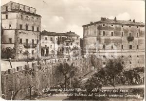1955 SANT'ORESTE (RM) Palazzo del Vignola *Cartolina FG NV