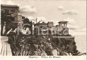 1951 BOGLIASCO (GE) Panorama con villino La Bicocca*Cartolina FG NV