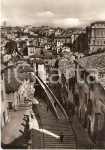 1959 PERUGIA Via Appia e Quartiere Sant'Angelo *Cartolina FG VG