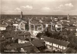 1959 ROBBIO LOMELLINA (PV) Panorama del paese *Cartolina FG NV