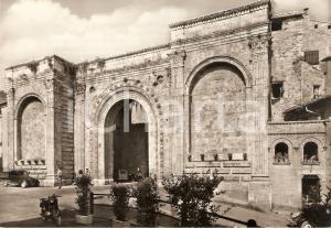 1955 ca PERUGIA Panorama con Porta San Pietro *Cartolina FG NV