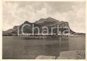 1930 ca PALERMO Monte Pellegrino - Timbro XXIV Riunione SIPS *Cartolina FG NV