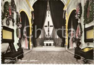 1950 ca SOLFERINO (MN) Interno dell'Ossario *Cartolina FG NV