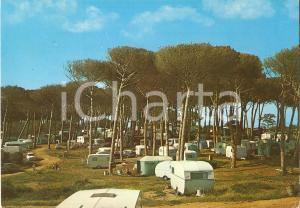 1970 ANZIO Camping ARCA ROULOTTES Campeggio LAVINIO *Cartolina VINTAGE FG VG