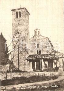 1950 ca MUGGIA (TS) Basilica santuario di MUGGIA VECCHIA *Cartolina FG NV