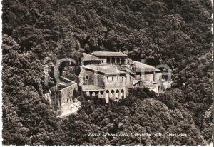 1955 ca ASSISI (PG) Panorama dell'Eremo delle carceri *Cartolina FG NV