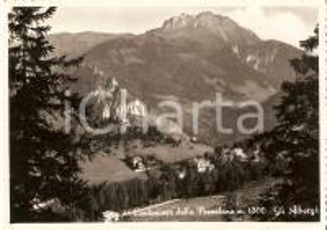 1958 CANTONIERA DELLA PRESOLANA (BG) Panorama con alberghi *Cartolina FG VG