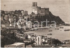 1959 LERICI Panorama con Castello e Golfo di La Spezia *Cartolina FG VG