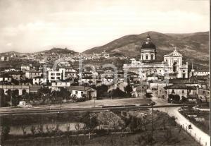 1960 ca ASSISI (PG) Panorama frazione SANTA MARIA DEGLI ANGELI *Cartolina FG NV