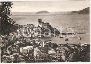 1960 LERICI (SP) Panorama del Golfo di La Spezia *Cartolina FG VG