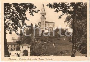 1941 UDINE Castello visto da Piazza Umberto I *Cartolina FG VG