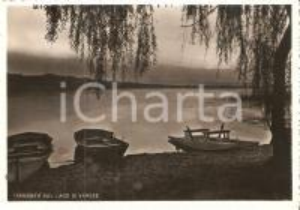1956 VARESE Tramonto sul lago *Cartolina FG VG