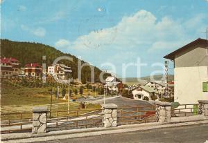 1972 ROCCARASO (AQ) Lavori in corso in Via Piedimontana *Cartolina FG VG