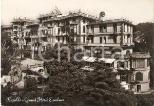 1954 RAPALLO (GE) Grand Hotel EXCELSIOR *Cartolina FG VG