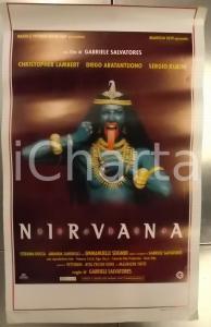1997 NIRVANA Christopher LAMBERT Regia Gabriele SALVATORES *Locandina 33x53