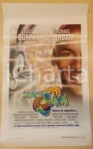 1996 SPACE JAM Michael JORDAN Bugs BUNNY Wayne KNIGHT *Locandina 33x53