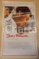 1996 JERRY MAGUIRE Tom CRUISE Cuba GOODING Jr. Cameron CROWE *Locandina 33x53