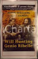 1997 WILL HUNTING - GENIO RIBELLE Robin WILLIAMS Gus VAN SANT *Locandina 33x53