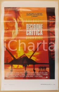 1996 DECISIONE CRITICA Kurt RUSSELL Steven SEAGAL Halle BERRY *Locandina 33x53