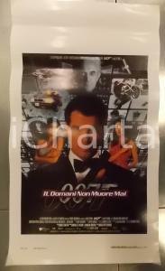 1997 007 - IL DOMANI NON MUORE MAI James BOND Pierce BROSNAN *Locandina 33x75
