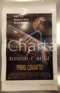 1996 STAR TREK - PRIMO CONTATTO Patrick STEWART Jonathan FRAKES *Locandina 33x70