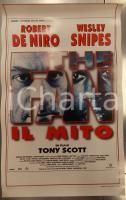1996 THE FAN - IL MITO Robert DE NIRO Wesley SNIPES Tony SCOTT *Locandina 33x73