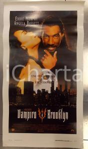 1995 VAMPIRO A BROOKLYN Eddie MURPHY Angela BASSET Wes CRAVEN *Locandina 33x60