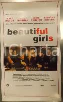1996 BEAUTIFUL GIRLS Matt DILLON Uma THURMAN Regia di Ted DEMME *Locandina 33x53