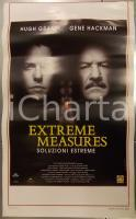 1996 EXTREME MEASURES Hugh GRANT Gene HACKMAN Michael APTED *Locandina 33x55