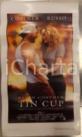 1996 TIN CUP Kevin COSTNER Rene RUSSO Don JOHNSON Ron SHELTON *Locandina 33x53