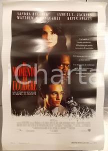 1996 MOMENTO DI UCCIDERE Matthew McCONAUGHEY  Sandra BULLOCK *Locandina 33x53
