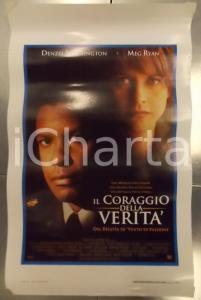 1996 IL CORAGGIO DELLA VERITA' Denzel WASHINGTON Meg RYAN *Locandina 33x53