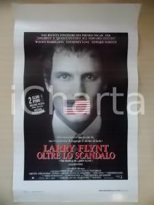 1996 LARRY FLINT OLTRE LO SCANDALO Woody HARRELSON Milos FORMAN *Locandina 33x53