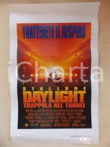 1996 DAYLIGHT - TRAPPOLA NEL TUNNEL Sylvester STALLONE Rob COHEN Locandina 33x53