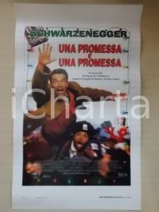 1996 UNA PROMESSA E' UNA PROMESSA Arnold SCHWARZENEGGER *Locandina 33x53