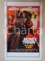 1996 MONEY TRAIN Wesley SNIPES Woody HARRELSON Jennifer LOPERZ *Locandina 33x53