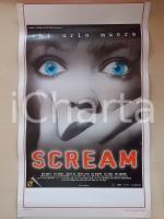 1996 SCREAM David ARQUETTE Neve CAMPBELL Courtney COX Wes CRAVEN Locandina 33x53