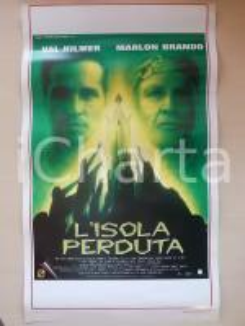 1996 L'ISOLA PERDUTA Marlon BRANDO Val KILMER David THEWLIS *Locandina 33x53
