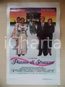 1996 PIUME DI STRUZZO Robin WILLIAMS Gene HACKMAN Nathan LANE *Locandina 33x53