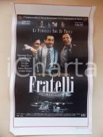 1996 FRATELLI Christopher WALKEN Vincent GALLO Abel FERRARA *Locandina 33x53