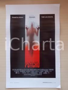1998 PSYCHO Vince VAUGHN Julianne MOORE Regia Gus VAN SANT *Locandina 33x55