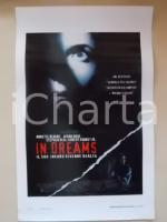 1999 IN DREAMS Annette BENING Robert DOWNEY Jr. Aidan QUINN *Locandina 33x55