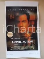 1998 A CIVIL ACTION John TRAVOLTA Robert DUVALL Tony SHALHOUB *Locandina 33x55